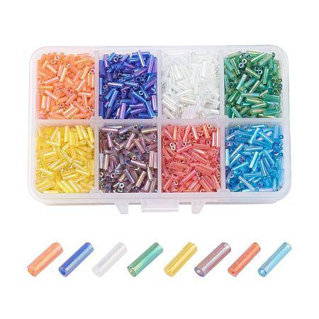 Glass Bugle Beads SetsSEED-X0051-01-1