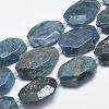 Natural Apatite Beads StrandsG-G745-17-1