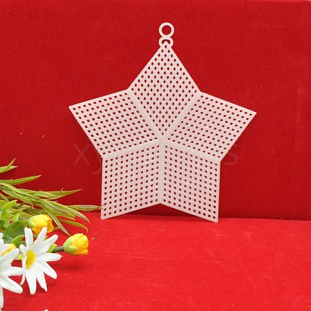 Cross Stitch Mesh Board DIY-WH0162-78-1