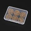 Transparent Plastic Bead ContainersX-CON-WH0020-01-5