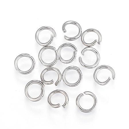 304 Stainless Steel Jump RingsSTAS-F110-06P-1