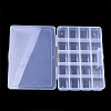 Plastic Bead Storage ContainersCON-Q031-04B-3