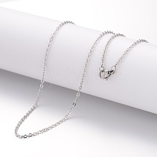 304 Stainless Steel Necklace Making MAK-K004-14P