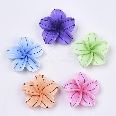 Handmade Polymer Clay BeadsX-CLAY-R088-03-1