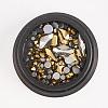 Glass Rhinestone CabochonsMRMJ-S014-002C-1