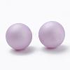 Environmental Plastic Imitation Pearl BeadsX-MACR-S277-5mm-B-4
