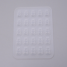 Bear Food Grade Silicone Molds DIY-WH0183-30