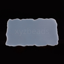 Rectangle Fruit Tray Silicone Molds AJEW-WH0022-03B