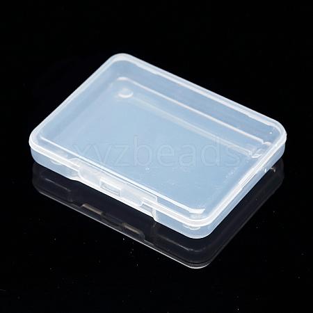 Transparent Plastic Bead ContainersX-CON-WH0020-01-1