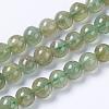 Natural Green Apatite Beads StrandsG-F568-208-6mm-1