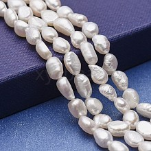 Natural Cultured Freshwater Pearl Beads Strands PEAR-P060-23B