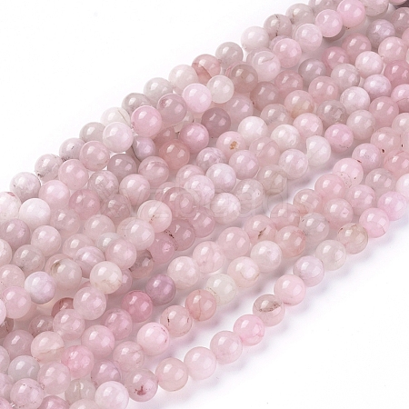 Natural Rose Quartz Beads StrandsG-F591-04C-8mm-1