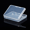 Transparent Plastic Bead ContainersX-CON-WH0020-01-3