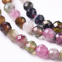 Natural Tourmaline Beads Strands G-XCP0006-06