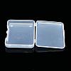 Transparent Plastic Bead ContainersX-CON-WH0020-01-4