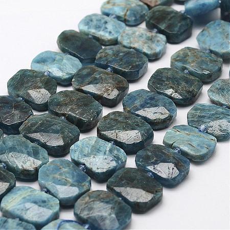 Natural Apatite Beads StrandsG-F474-13-1